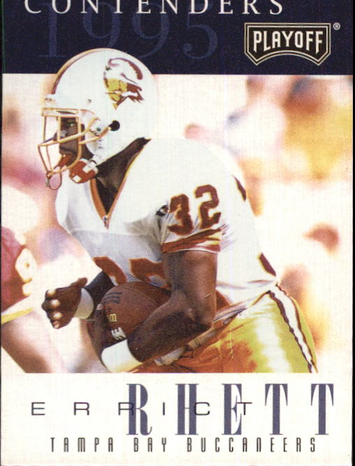 1995 Playoff Contenders #14 Errict Rhett