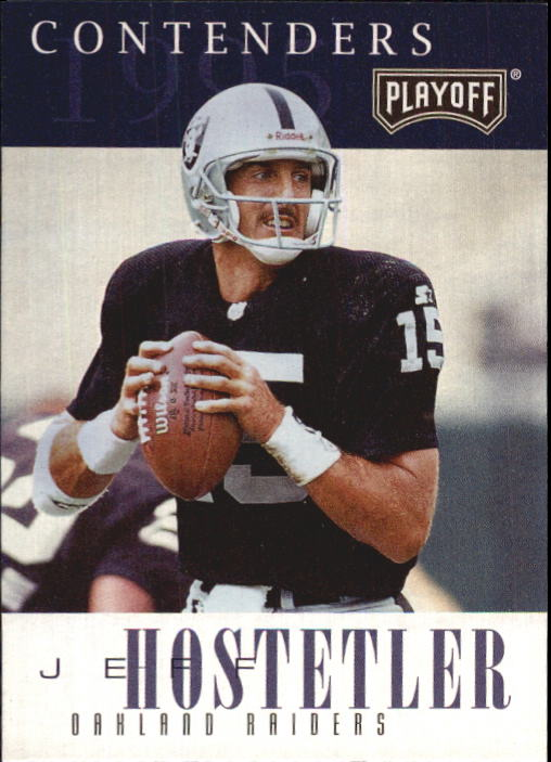 1995 Playoff Contenders #15 Jeff Hostetler