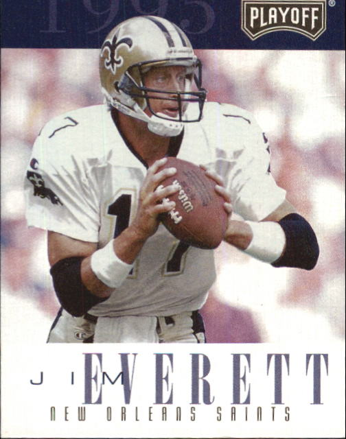 1995 Playoff Contenders #17 Jim Everett