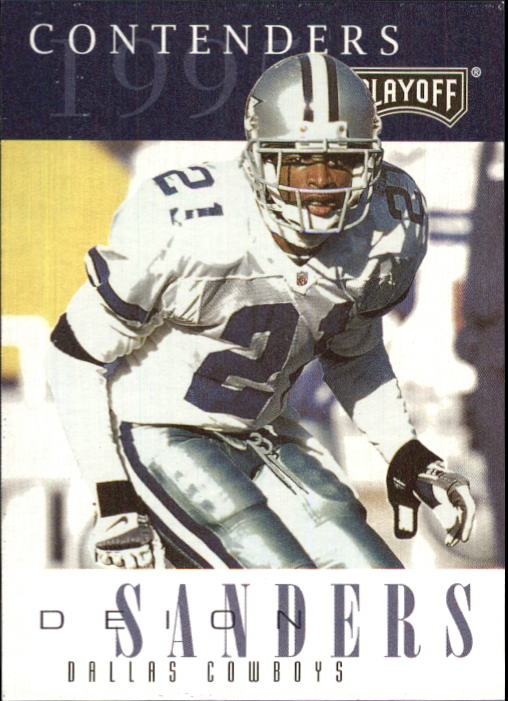 1995 Playoff Contenders #21 Deion Sanders