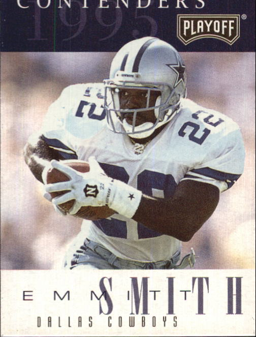 1995 Playoff Contenders #22 Emmitt Smith