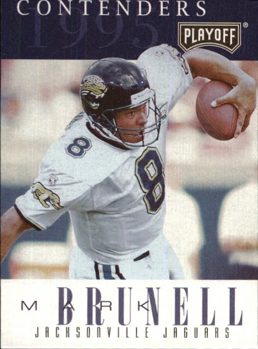 1995 Playoff Contenders #25 Mark Brunell