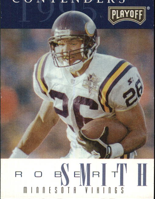 1995 Playoff Contenders #26 Robert Smith