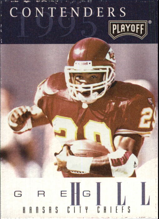 1995 Playoff Contenders #29 Greg Hill