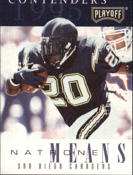 1995 Playoff Contenders #31 Natrone Means