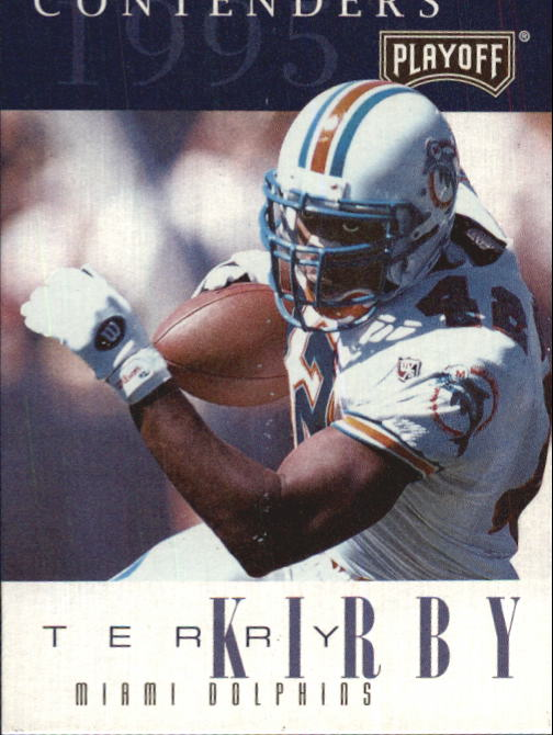 1995 Playoff Contenders #42 Terry Kirby