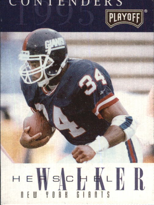 1995 Playoff Contenders #43 Herschel Walker