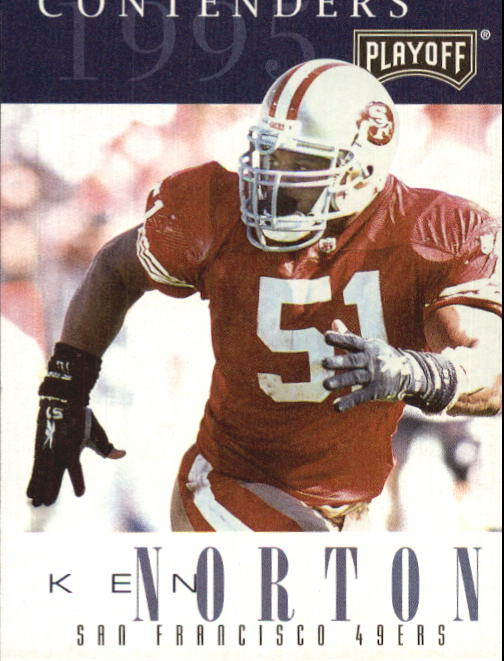 1995 Playoff Contenders #51 Ken Norton
