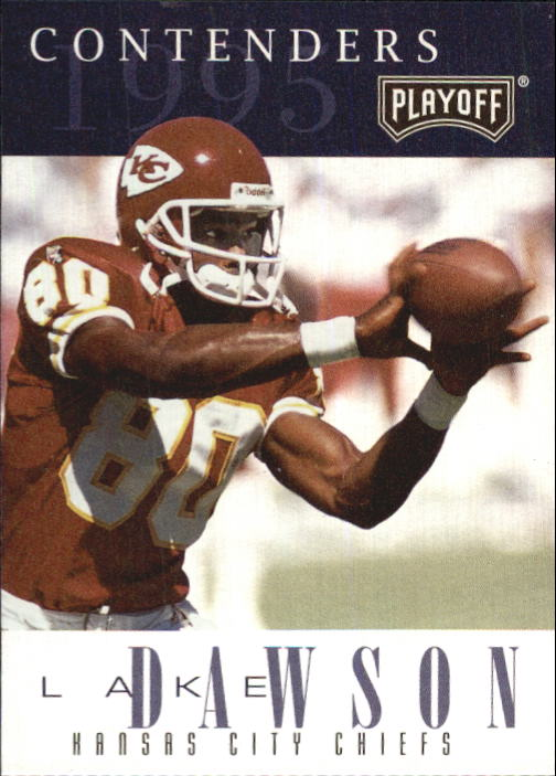 1995 Playoff Contenders #53 Lake Dawson