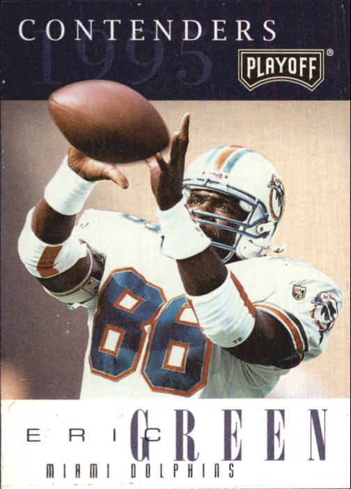 1995 Playoff Contenders #54 Eric Green