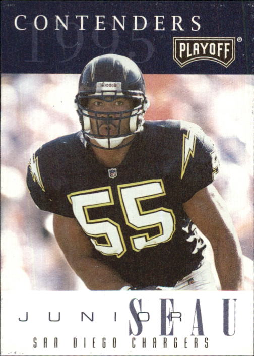 1995 Playoff Contenders #55 Junior Seau
