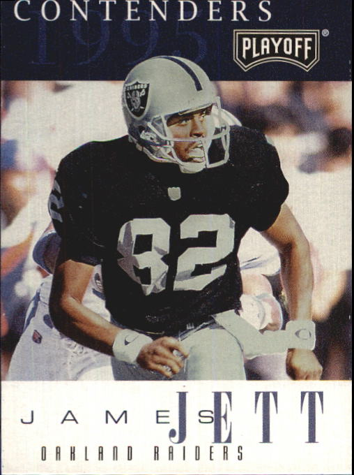 1995 Playoff Contenders #57 James Jett