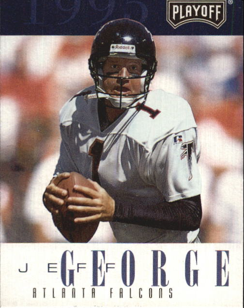 1995 Playoff Contenders #62 Jeff George