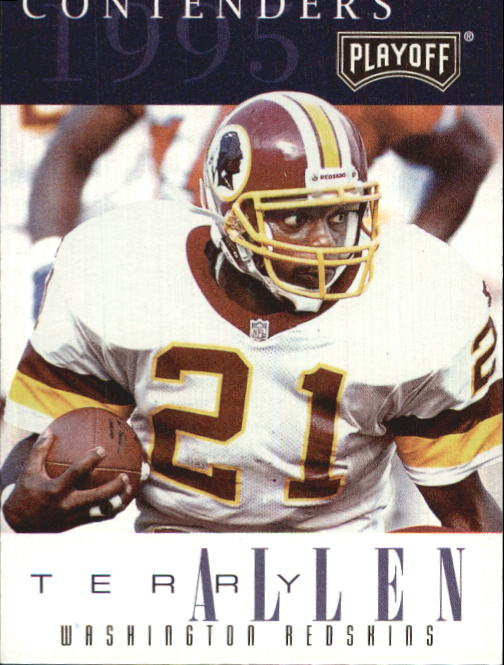 1995 Playoff Contenders #64 Terry Allen