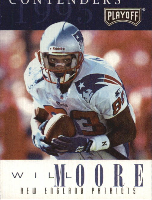 1995 Playoff Contenders #83 Will Moore