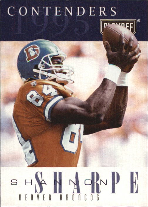 1995 Playoff Contenders #90 Shannon Sharpe
