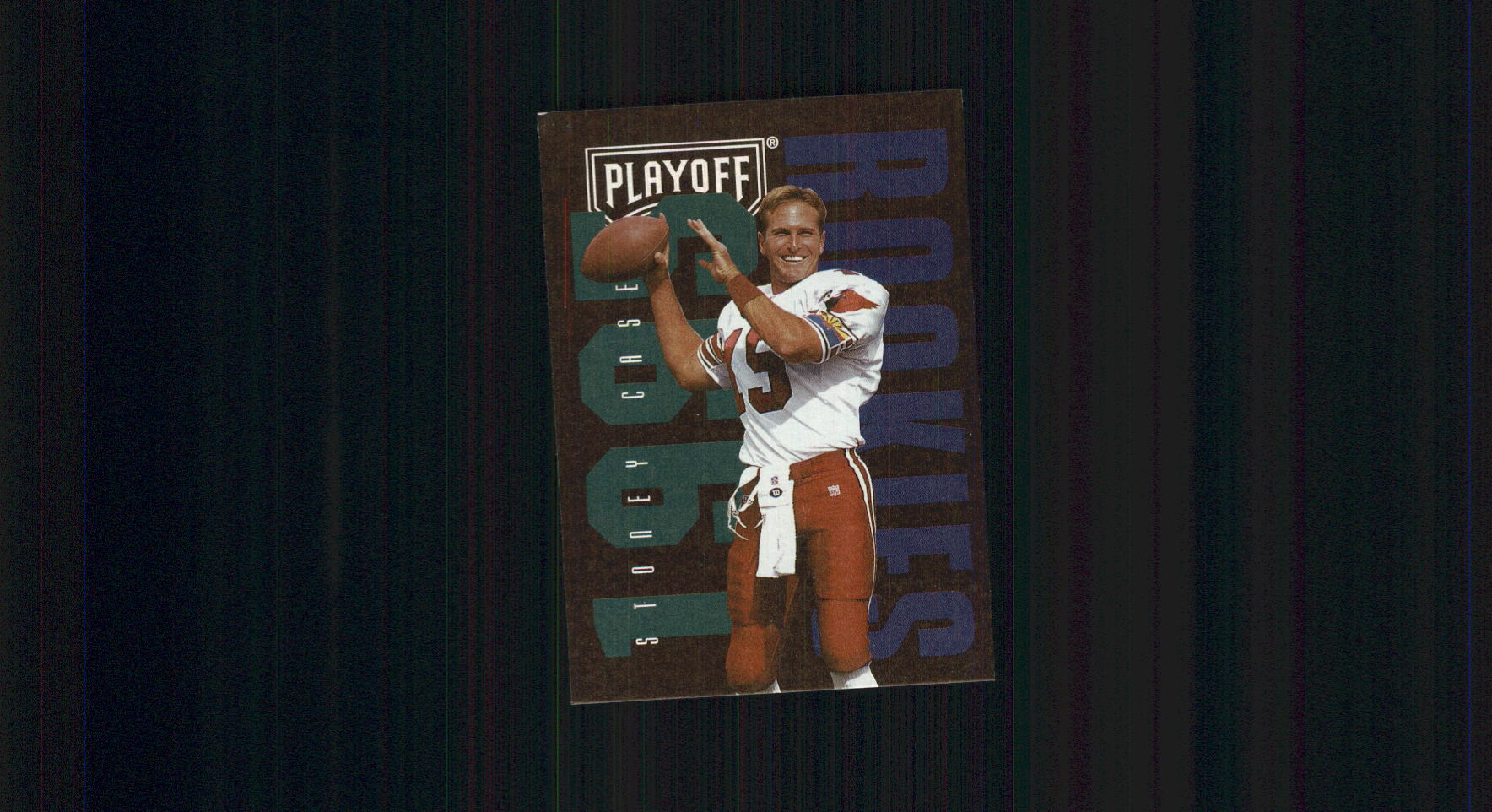 1995 Playoff Contenders #121 Stoney Case RC