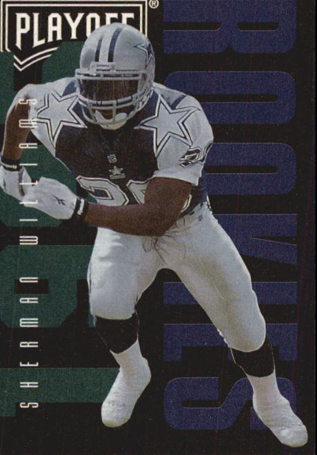 1995 Playoff Contenders #125 Sherman Williams RC