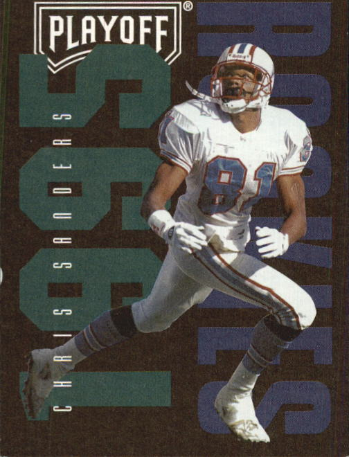 1995 Playoff Contenders #129 Chris Sanders RC