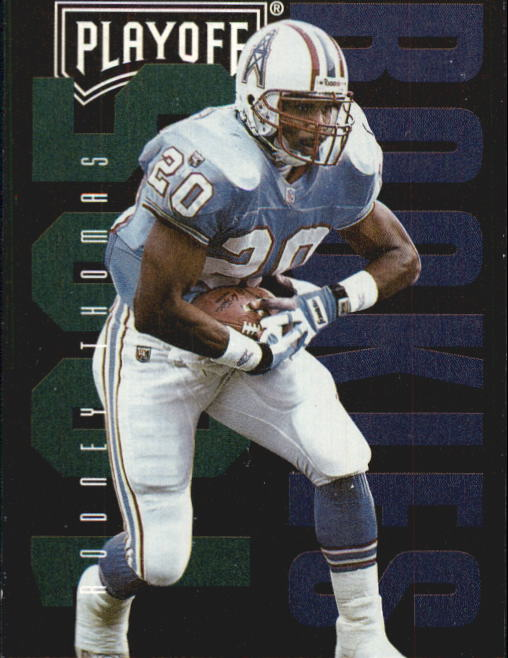 1995 Playoff Contenders #131 Rodney Thomas RC