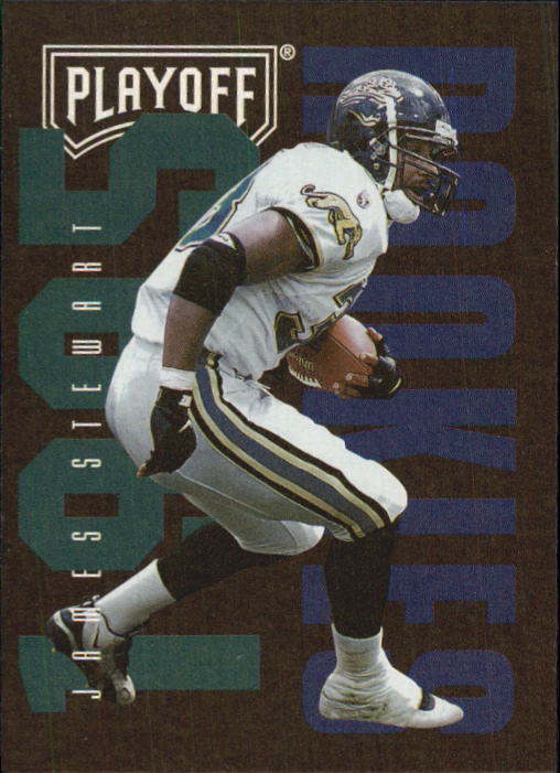 1995 Playoff Contenders #134 James O. Stewart RC