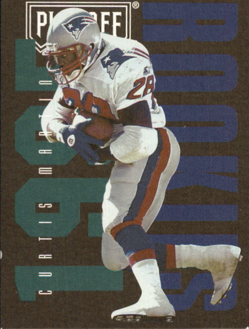 1995 Playoff Contenders #139 Curtis Martin RC