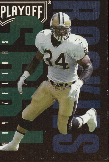 1995 Playoff Contenders #141 Ray Zellars RC