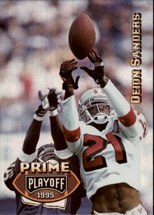 1995 Playoff Prime #4 Deion Sanders