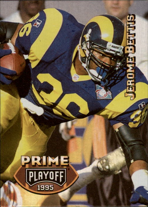 1995 Playoff Prime #6 Jerome Bettis
