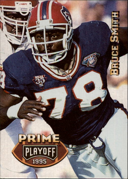 1995 Playoff Prime #16 Bruce Smith