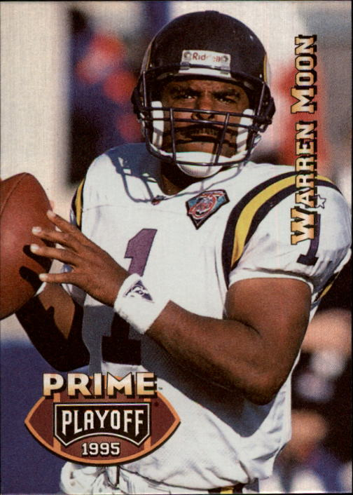 1995 Playoff Prime #23 Warren Moon