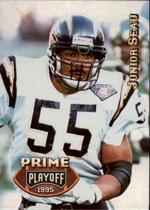 1995 Playoff Prime #24 Junior Seau