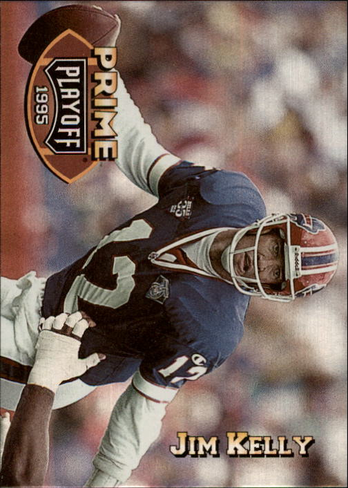 1995 Playoff Prime #29 Jim Kelly