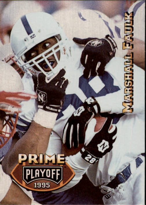 1995 Playoff Prime #36 Marshall Faulk