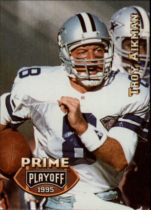 1995 Playoff Prime #50 Troy Aikman