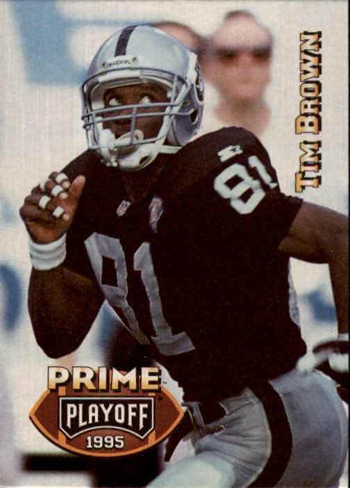 1995 Playoff Prime #73 Tim Brown