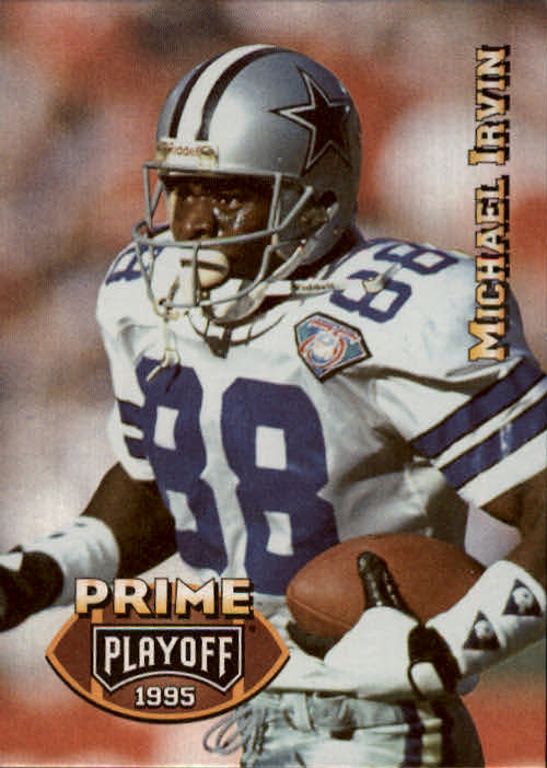 1995 Playoff Prime #88 Michael Irvin