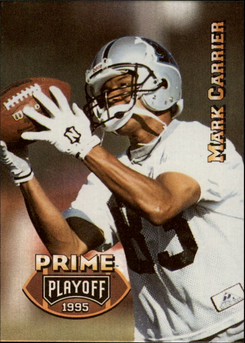 1995 Playoff Prime #117 Mark Carrier WR