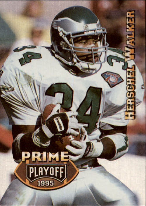 1995 Playoff Prime #135 Herschel Walker