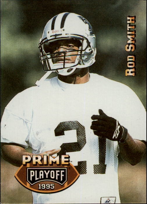 1995 Playoff Prime #140 Rod Smith DB