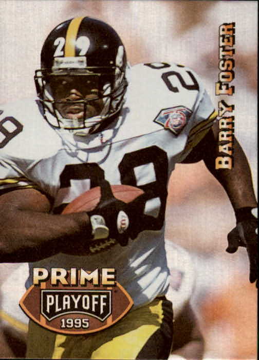 1995 Playoff Prime #152 Barry Foster