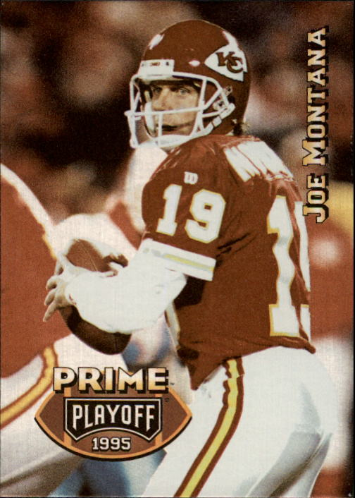 1995 Playoff Prime #153 Joe Montana