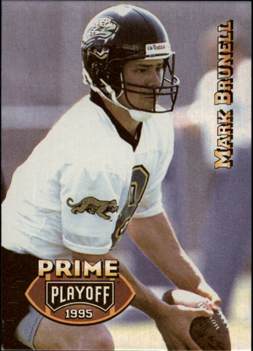 1995 Playoff Prime #166 Mark Brunell