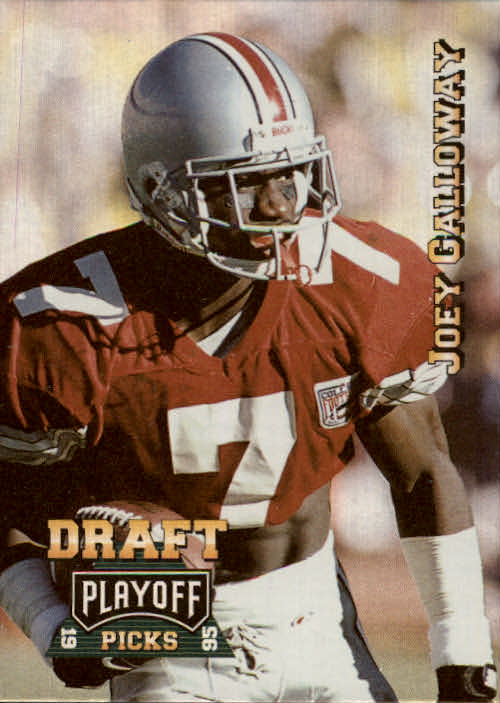 1995 Playoff Prime #187 Joey Galloway RC