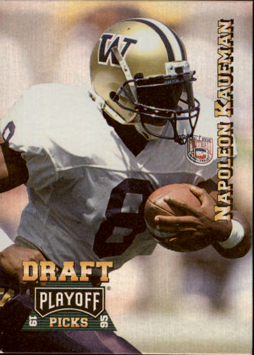 1995 Playoff Prime #192 Napoleon Kaufman RC