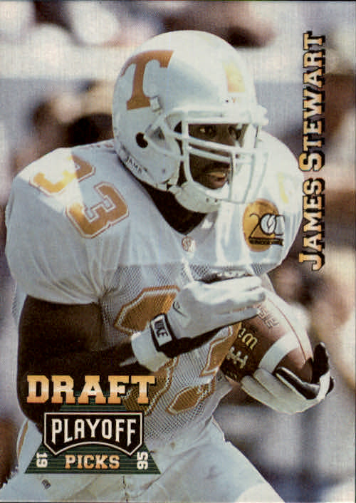 1995 Playoff Prime #193 James O. Stewart RC