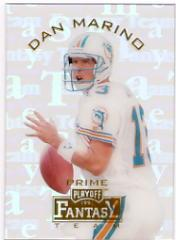 1995 Playoff Prime Fantasy Team #FT11 Dan Marino front image