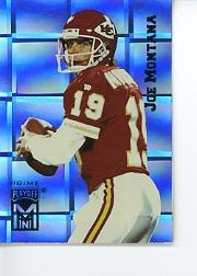 1995 Playoff Prime Minis #153 Joe Montana