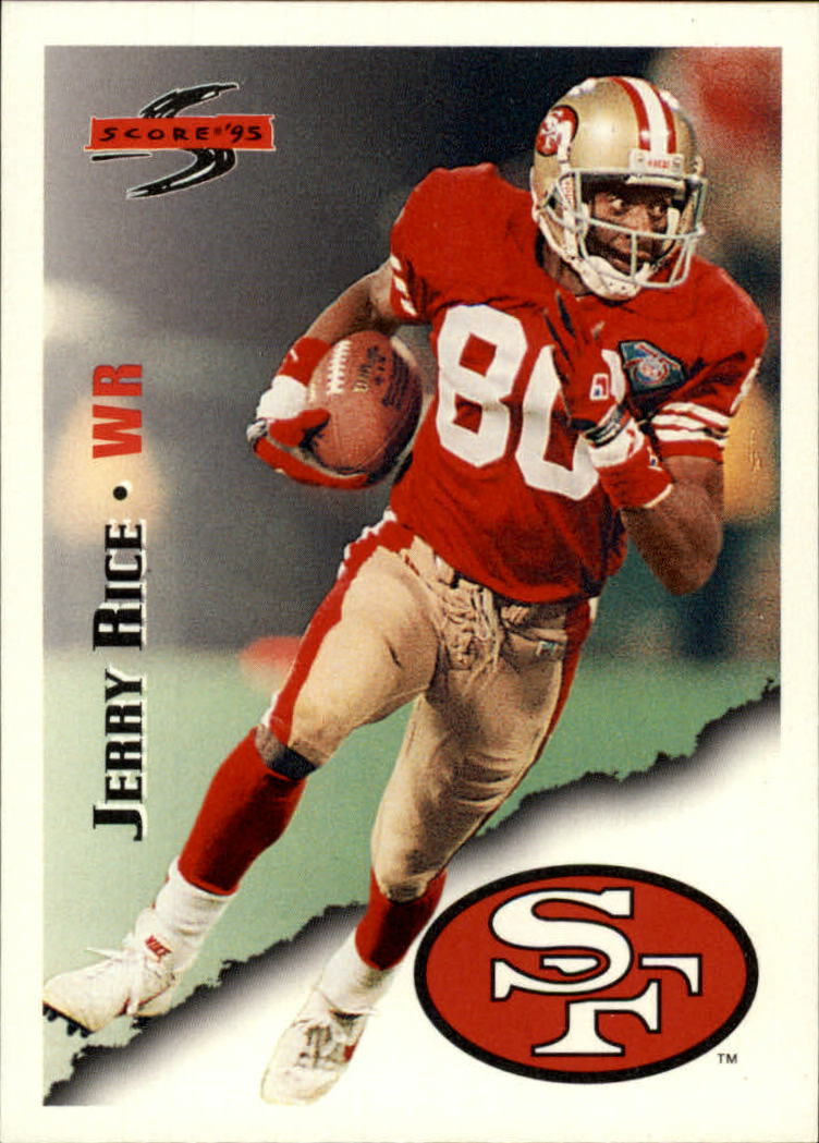 1995 Score #3 Jerry Rice