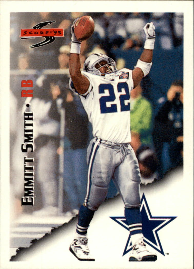 1995 Score #10 Emmitt Smith